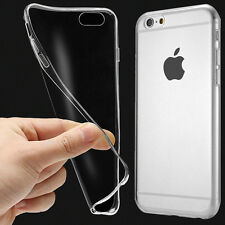 """Clear Transparent Crystal Soft TPU Silicone Cover Case for iPhone 6S 6 4.7"""" well"""
