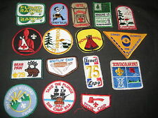 BSA National Issue 30 Boy Scout and Cub Scout  Activity Patches 1960-80s  cl
