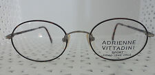 ADRIENNE VITTADINI AV Sport 10 49/19 140 Vintage 80's Glasses Made in Korea (C4)