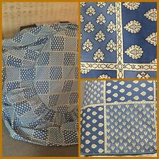 """Vtg Custom Souleiado Pierre Deux 43"""" Table Cloth Demery Provence French Country"""