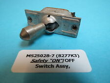 MS25028-7 Safety ON/OFF Toggle Switch Aircraft Helicopter Industrial AN3022 Type
