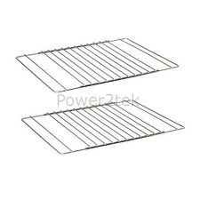 2 x Smeg Universal Adjustable Oven/Cooker/Grill Shelf Rack Grid Extendable UK