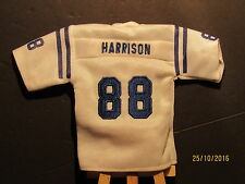 2005 UD Mini Jersey Collection Replica Jerseys White #MH Marvin Harrison