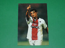 PHOTO CARTE LAURENT FOURNIER PARIS SAINT-GERMAIN PSG 1997 1998