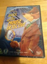 Basil The Great Mouse Detective (DVD, 2002) Classic 26 White Writing