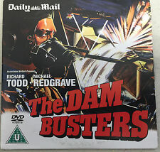 THE DAM BUSTERS  PROMO DVD FROM A NEWSPAPER