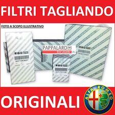 KIT TAGLIANDO 4 FILTRI ORIGINALI ALFA ROMEO 147 1.9 JTD / 1.9 JTDM
