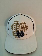 Notre Dame Fighting Irish Top of the World Matrix Stretch fit hat S/M White