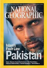 National Geographic - September 2007 Back Issue - Islam's Fault Line: Pakistan