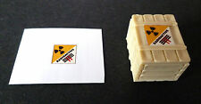 Dinky Crate Sticker for 105 MSV Maximum Security Vehicle - Captain Scarlet