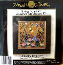 Mill Hill Cross Stitch Bead Kit 'Frog Pond' (boutonné et perles) CB142