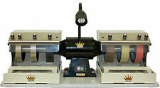 "CabKing Rock Grinder Polisher Cabbing Machine Lapidary 8"" Diamond Saw Attachment"