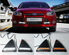LED Daytime Running Light DRL Kit For Ford Focus Turn Signal 2011 2012 2013 2014