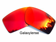 Galaxy Replacement Lenses For Oakley Gascan Fire Red Color Polarized 100%UVA