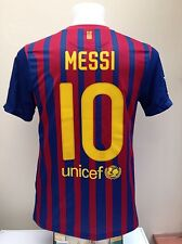 Barcelona Football Shirt Jersey MESSI 10 Home Small S Adult Nike 2011 2012