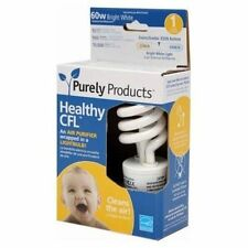 NEW Purely Products CFL Healthy Compact Bulb USA Standard Base E26 PA151M35