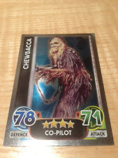 STAR WARS Force Awakens - Force Attax Trading Card #164 Chewbacca
