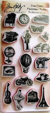 Vintage Little Things Tim Holtz Stampers Anonymous Rubber Cling Stamp Set THJ005