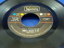 PHIL UPCHURCH - The Hog / That's Where It Is - 1961 VG+/VG++
