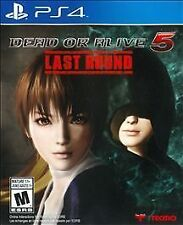 NEW Dead or Alive 5: Last Round (Sony PlayStation 4, 2015)