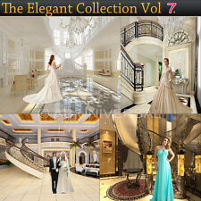 Digital Photorealistic Render Backgrounds Backdrops ELEGANT COLLECTION VOL 7
