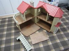 Calico Critters Cloverleaf Townhome  House  Epoch Toy  Sylvania