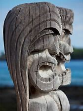 Art Imprimé Poster Photo culture icône Hawaiian tiki Hawaii statue lfmp1179