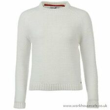 Ladies Genuine Kangol Stylish Snug Wear Cable Knit Jumper Top Knitwear  M B443-3