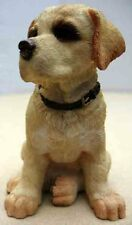 COUNTRY ARTISTS PUPPIES-YELLOW LABRADOR PUPPY FIGURINE-ITEM #90782