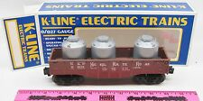 K-Line K-9031 Nickel Plate Road gondola with canister