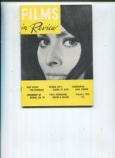 Films in Review  Feb 1963 Sophia Loren Myrna Loy Karl Freund MBX98