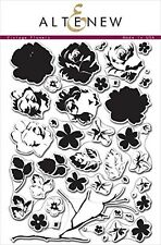 Altenew Vintage Flowers Clear Stamp Scrapbooking Card Making