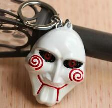 DZ1271 SAW I want to play a game GAME OVER Metal alloy Keychain Keyring ♫