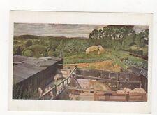 Stanley Spencer Ricketts Farm Cookham Dene Plain Back Art Card 570a