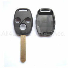 3 BTN Remote Key Shell fit for Replace HONDA Accord Fit Civic CRV Pilot Case Fob