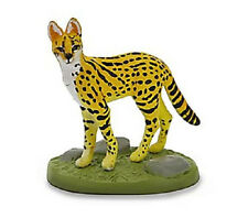 Kaiyodo Yujin Colorata Tiger Leopard Lion Wild Big Cat SERVAL CAT Figure Rare!