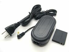 AC Power Adapter + DC Coupler for Canon ACK-DC40 PowerShot SD1200 IS SD1300 IS