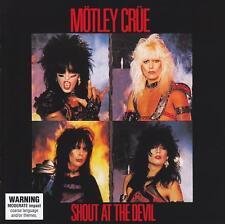 MOTLEY CRUE - SHOUT AT THE DEVIL D/Remaster CD w/BONUS Trax ~ 80's METAL *NEW*