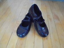 AETREX ladies 5M leather comfort SHOES new mary janes straps Black & brown