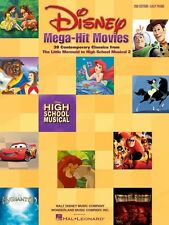 Disney Mega-Hit Movies Sheet Music 38 Contemporary Classics from The L 000316081