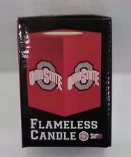 Ohio State Buckeyes OSU Flameless Candle NCAA Official Licensed NEW IN BOX!