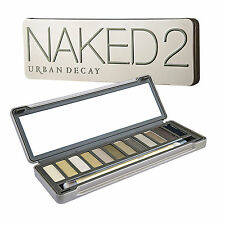 Urban Decay Naked2 Eyeshadow Palette Makeup Eye 12 Taupe-Hued Neutral Shades