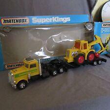 30D Matchbox K-108 Superkings Digger Plough Transporter