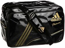 NEW RARE Adidas Professional Embroidered Gold logo Duffle Shoulder Bag Japan