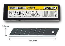 OLFA / SPARE BLADE / LBB50K / 50 SHEETS SET / MADE IN JAPAN