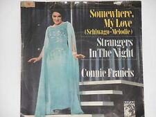 "CONNIE FRANCIS -Somewhere, My Love (Schiwago-Melodie)- 7"" 45"