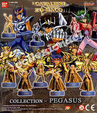 I Cavalieri dello Zodiaco Saint Seiya Collection Pegasus BANDAI 9 PEZZI