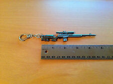 Sniper Rifle - Metal Keychain Gun Key Chains (KC5)