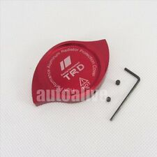 CNC TRD Anodized Billet Aluminum Red Radiator Cap Cover For Toyota Scion Lexus