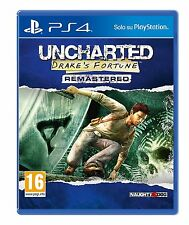 Uncharted: Drake's Fortune Remastered    PS4  NUOVO!!!